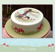 Baby Forest Animals Baby Shower cake. #babyshower #forest #animals #cakes