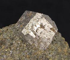 Cobaltite, CoAsS, (old Sweden) Will Henderson Coll. - Hakansboda, Lindesberg, Vastmanland, Sweden