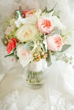 Beautiful Virginia Wedding with Amazing Green and Pink Color Palette