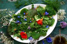 Fleurige salade