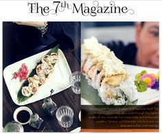 Temakinho Sustainable Seafood Restaurant with Japanese x Brazilian fusion food on MFW x PFW Issue of The 7th Magazine for Cuisine
