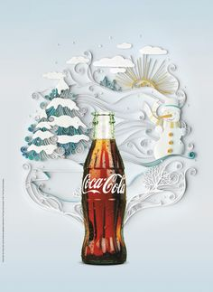 Fresh and cool Coca Cola 2013 ad poster designs   1ADTrend magazine - We create, collect, sort, find and review creative ways to advertise.A...