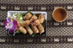 Les rouleaux de printemps frits, un plat à manger au nouvel an chinois pour devenir riche !