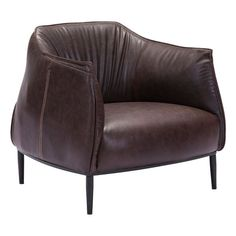 Zuo 98085 Julian Occasional Chair Espresso