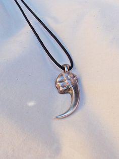 Eagle Talon Pendant Silver Handmade. $105.00, via Etsy.