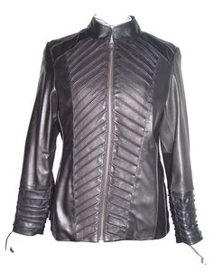 Nettailor Women PETITE & ALL SIZE Fashion 4190 Soft Leather New Rider Jacket. Any size incl. custom avail. (unseen SIZES, contact us).