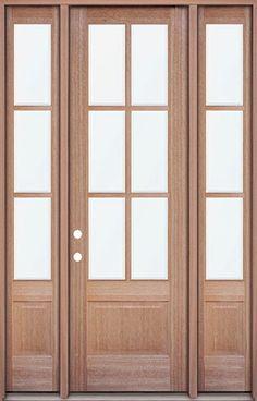 Radiata Pine Louver Over Louver Door 730 Doors