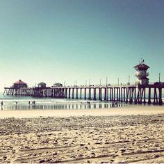 Huntington Beach Pier, California. - mymoralesgroup.com