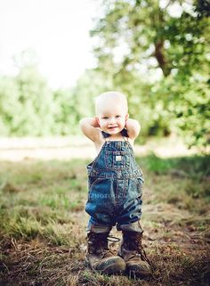 Cutest little boy! Country little sweetheart