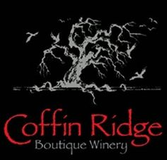 Coffin Ridge Winery, Annan, Ontario.  North of Toronto near Lake Huron; close to Owen Sound.  Boutique winery overlooking Georgian Bay.  3 signature wines: Into The Light White, Back From The Dead Red and Resurrection Rose.
