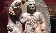Artefacts such as a Buddhist sculpture have been extracted from the Mes Aynak archaeology site where miners want to extract rich deposits of copper.