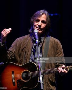 Jackson Browne perfoms at the 'This Land Is Your Land' - Woody Guthrie Centennial Celebration Concert at Club Nokia on April 14, 2012 in Los Angeles, California.