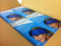 We just opened a fresh new box of Headache Relievers. They're clinically proven to be 87% effective for migraines and tension headaches, so it's no wonder they're flying off the shelves. And they're especially helpful for those trying to avoid taking medication, such as pregnant women. If you get headaches, order one today!