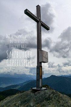 Das Salzburger Gipfelspiel läd dich ein, 7 traumhafte Wandertouren in der Salzburger Sportwelt erleben. Wind Turbine, Tourism, Mountains, Games