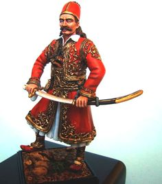 Επανάσταση 1821 - Γεώργιος Καραϊσκάκης Samurai, Samurai Warrior