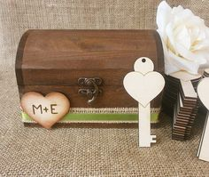 Wedding Guest Book Alternative With 100 Wooden Keys