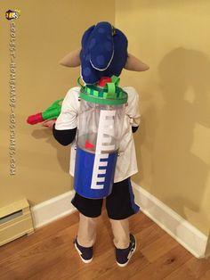 Inkling Boy Costume from Splatoon...