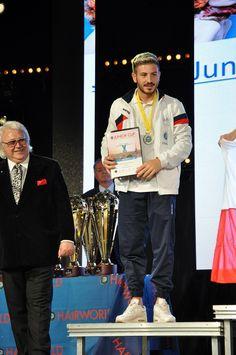 Campionati Europei di Acconciatura – Parigi 2016: BONTORNO NICHOLAS (A.N.A.M.)…
