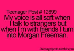 """""""I can tell Avrie is a very quiet person. Teen Posts, Teenager Posts, True Quotes, Funny Quotes, True Sayings, Nerd Girl Problems, Talk To Strangers, Morgan Freeman, Teenager Quotes"""