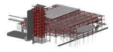 Steel Structural Shop Drawings, Connection Design, Framing Detailing Work and Assembly Drawings Tekla Rebar Detailing, Pre Engineered Metal Buildings, 3d Building Models, Structural Model, Steel Structure, Roof Structure, Civil Engineering Construction, Materials And Structures, Framing Construction