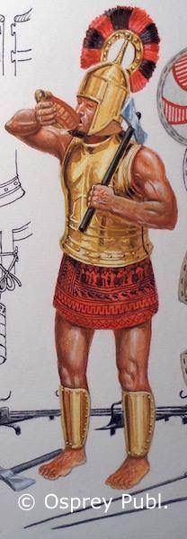 A warrior of the 'Wilusas', known to the Hittites, and recently linked to Ilium or Troy. Were the Wilusas - a significant city trading partner of the Hittites to the west - actually Homer's Trojans?