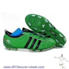 Authentic Adidas Adipure IV Trx FG Cleat Green Black For Wholesale