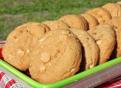 Triple Play Peanut Butter Cookies loaded with peanut butter, peanuts, and peanut butter chips!  You will LOVE these!
