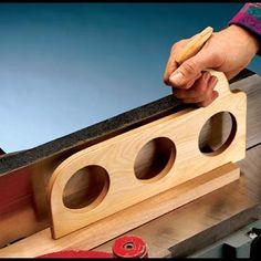 Sure-Grip Jointer Pushstick