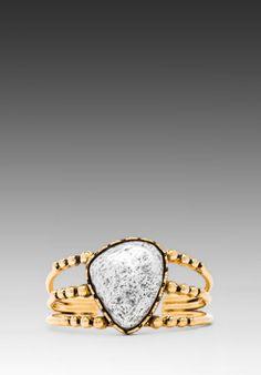 Vanessa Mooney Banshee Cuff in Gold from REVOLVEclothing.com