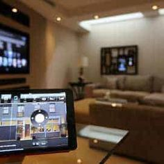 A Smart Home builds on the infrastructure installed in a connected home – media distribution allows any room of the house to enjoy the clients music collection and distributes centralised video sources to any TV of the home.