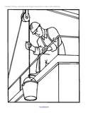 Construction Workers Theme Activities for Preschool PreK and Kindergarten Coloring Pages