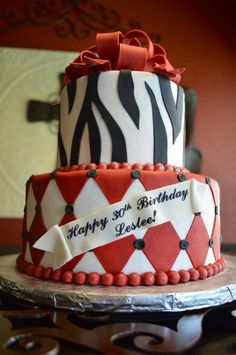 My 30th birthday cake!!!! Please!!!! I would like hot pink and zebra though with lots of wine:) and frills  Someone email this to my husband lol