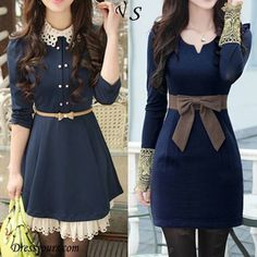 Which one would you like to try? V or S? #DRESS V>>http://goo.gl/UR5dv6 S>>http://goo.gl/OdT5jk