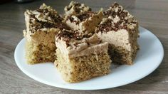 Cake with nuts and caramel cream #cake