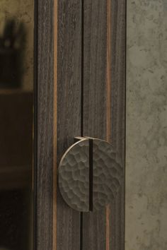 The solid brass semi-circular 'Hammered' cabinet handle is a showstopper. These statement pieces are highly desirable and can be found on some of the most exclusive projects in the world. Each piece has been lovingly made to perfection, no two are the same, which only adds to its charm. Knobs And Handles, Cabinet Handles, Door Handles, Polished Nickel, Solid Brass, Antique Brass, Wax, Bronze, Antiques