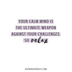 🙌🏻 Every day you have the choice to reclaim the power over your thoughts. - Calmness begins the moment you take a deep breath and choose not to allow another person or event control your thoughts. - So breathe and remember: ✨You are not what happened to you. ✨You are what you choose to become in this moment. ✨Let go and begin again.