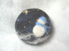 Felted Soap by Sweetnola   Snowman Fun soap for by sweetnola, $12.00