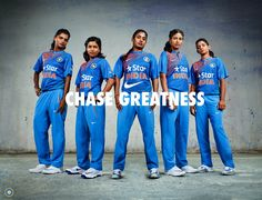 #NIKE new Cricket Jersey. Indian Women Cricket Team. #ChaseGreatness