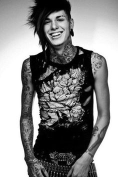 I usually don't like guys with tattoos but...Jayy Von Monroe. God. Marry me.
