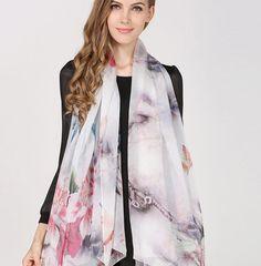 Elegantná hodvábna dámska šatka - 180 x 110 cm - vzor 9 Kimono Top, Women's Fashion, Outfit, Tops, Outfits, Fashion Women, Womens Fashion, Woman Fashion