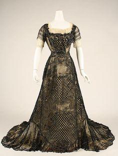 Evening Dress 1906-1908 The Metropolitan Museum of Art