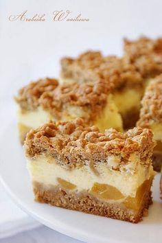 Polish Desserts, Polish Recipes, Polish Food, Pumpkin Cheesecake, Cheesecakes, Yummy Cakes, Sweet Recipes, Sweet Tooth, Bakery