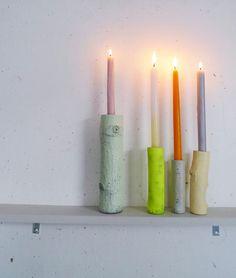 Candle Holders for SHANA HONG van AnnaSlezak op Etsy