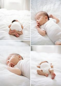 This is the kind of newborn photography I love. Simple. Natural. No freaky poses.