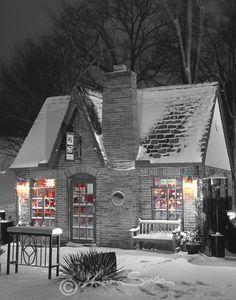 Hi Hat Coffee Shop - Westwood Hills, Kansas, suburb of Kansas City, Missouri.