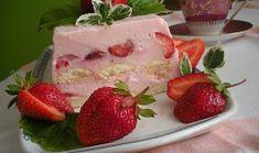 Osvěžující tvarohový dezert Strawberry, Pudding, Treats, Fruit, Food, Kochen, Sweet Like Candy, Goodies, Puddings