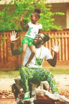 African style, father & daughter... RoarClothing