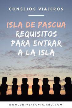 Conocer Isla de Pascua se encuentra en la lista de deseos viajeros de muchas personas. Algunos ya han logrado visitar esta isla en medio del océano pacífico que es parte del territorio chileno, pero otros aún la tienen por descubrir. Si deseas visitar este destino, te contamos los nuevos requisitos para entrar a Isla de Pascua a partir del 01 de Agosto de 2018. Visit Chile, Latin America, Travel Tips, Places To Visit, Around The Worlds, Life, Trips, Traveling, Blog