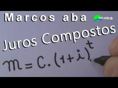 JUROS COMPOSTOS - Matemática Financeira - YouTube