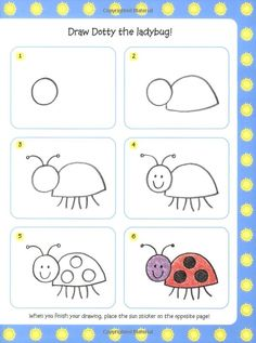 lady bug doodling | lady bug | doodling-journaling